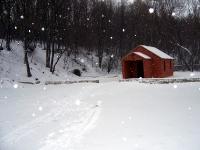 Св. источник зимой общий вид