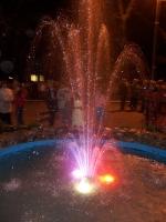 Фонтан на площади